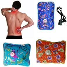 MTC Electric Heating Pad Massager for All Kind of Body Pain (Multicolour)