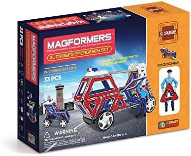 À la fin de l'année, je participerai au grand événeHommes t. Magformers XL Cruisers Emergency Set | Art Exquis