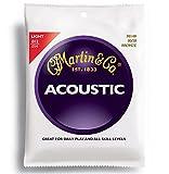 Martin M140 Gitarrensaiten für Akustikgitarren (1 Satz, Stärke 012)