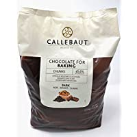 Callebaut - Trocitos de Chocolate Negro para Hornear 2,5kg