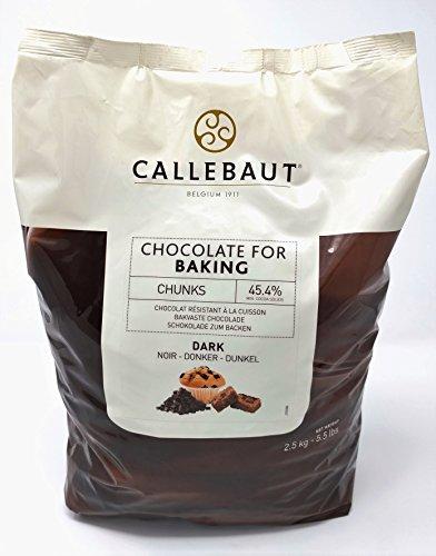 Callebaut Dunkle Schokoladen-Backen-Stücke 2.5kg