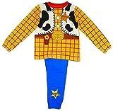 """Disney Toy Story Woody """"Costume"""" pyjama. Ces pyjamas ont de longues jambes et des manches à manches. Ces pyjamas sont fabriqués à partir de 100% coton. Ils sont disponibles pour les âges 18-24 mois (92cm), 2-3 Ans, (92cm) 3-4 Ans (104cm), 4-5 Ans (11..."""