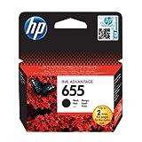 HP CZ109A Krt No 655 Siyah Kartus