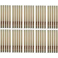 Preisvergleich für 100 OHRKERZEN ZweiohrkerZen® Bienenwachs und Trägermaterial Baumwolle (50 Paar) mit Abbrennmarkierung und Filter...