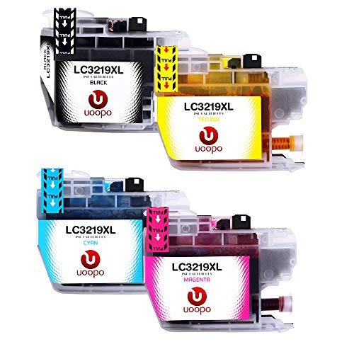 Uoopo LC3219XL Reemplazo Brother LC3219 LC3219 XL