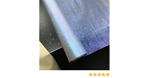 HOLOGRAM FABRIC Clear Vinyl Crafts Displays Visual Merchandising Table Covers