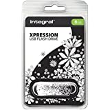 Integral Clé USB 8 Go Xpression FLOWER 2.0