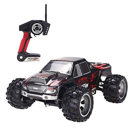 PowerLead 1:18 Scale RC Coches 2.4 GHz 4WD de Alta Velocidad 50KM / H Fast Race RC Coches de Control Remoto Camiones de Carreras de vehículos
