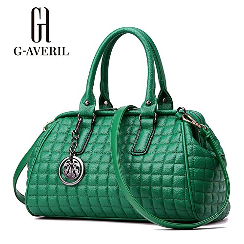 G-AVERIL, Borsa a mano donna nero Black Green