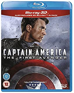 Captain America: First Avenger [Blu-ray 3D + 2D] [Region Free] (B00F3TCFD8)   Amazon price tracker / tracking, Amazon price history charts, Amazon price watches, Amazon price drop alerts