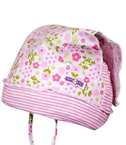 EveryHead Fiebig Sombrero del Bebé Protección UV Verano Paño para La Cabeza  Pañuelo Niñas Casquillo Niño 1863f8cb9a7