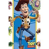 Toy-Story-Partyspiel-kleb-den-Sheriff-Stern-mit-Plakat-Maske-und-Stickern-witziges-Spiel-zum-Geburtstag