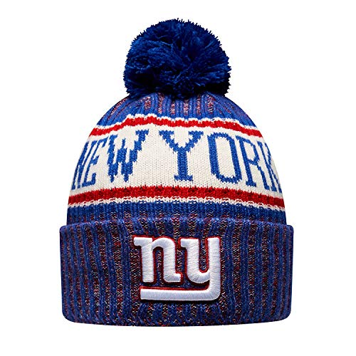 New Era ONF18 Sport Knit Bommelmütze NY Giants Blau, Size:ONE Size (New Giants York)