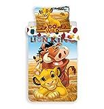 Le Roi Lion - Parure da letto - Copripiumino in cotone
