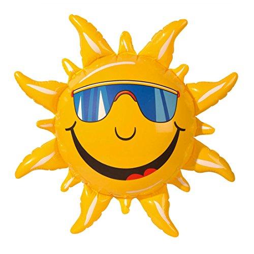 Sonne aufblasbar Sommerdeko Dekosonne Stranddeko Gartenparty Deko Beach Party Dekoration Partydekoration
