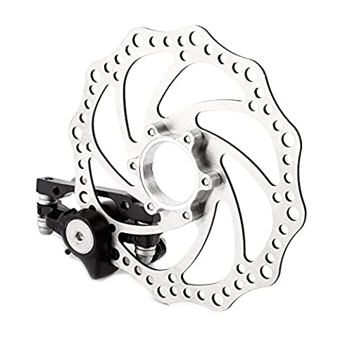 Mountain Bicycle Bike Mechanical Disc Brake F-160mm/R-140mm F-180mm/R-160mm with 160mm Rotors