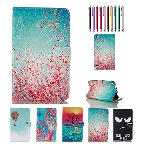 fire-7-2015-casekingcool-elegant-sakura-printed-pu-leather-stand-wallet-case-cover-for-amazon-fire-7