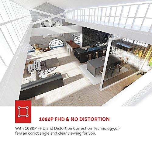Victure FHD 1080P Telecamera di Sorveglianza WiFi,videocamera IP Interno Wireless con Visione Notturna, Audio Bidirezionale, Notifiche in tempo reale del sensore di movimento - 7
