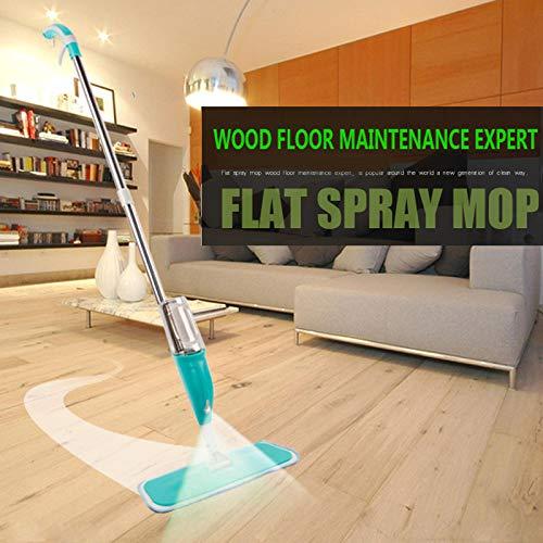 Mop spray con pistola a spruzzo steam mop pavimento in ceramica piastrelle in ceramica piano automatico mops floor cleaner per strumento di pulizia domestica verde/blu