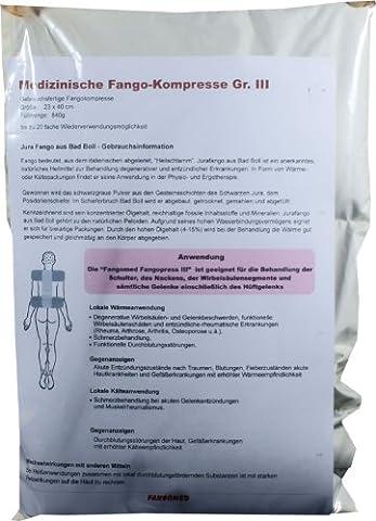 Fango-Kräuter-Kompresse Gr. L - 900g - Fango und Kräuter - bei Wirbelsäulen- und Gelenkbeschwerden - Beschwerden des