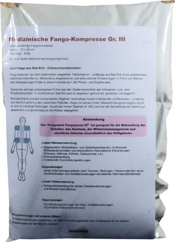 Fangokompressen-Fangokissen-Fangopackungen,zur Anwendung als Kälte- oder Wärmekompressen für den ganzen Körper, in verschiedenen Größen (Größe 3/23 x 40cm) - Heilmassage