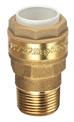 Raccord mâle Raccords - Filetage 15 x 21 mm - Diamètre 14 mm - Vendu par 1