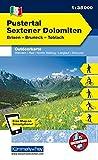 Italien Outdoorkarte 05 Pustertal, Sextener Dolomiten 1 : 35.000: Brixen, Bruneck,Toblach. Wanderwege, Radwanderwege, Nordic Walking, Skilanglauf, Skitouren (Kümmerly+Frey Outdoorkarten Italien) -