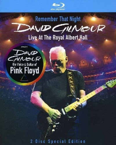 David Gilmour - Remember That Night/Live At The Royal Albert Hall [Blu-ray]...