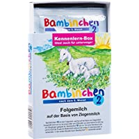 Bambinchen 2, Folgemilch, ab dem 6 Monat, Kennenlernbox, 78g für 3 x 200ml fertige Folgemilch
