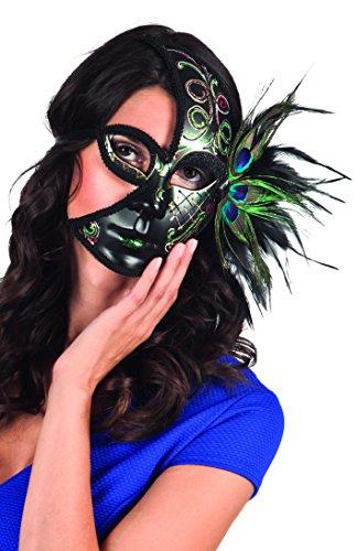Preisvergleich Produktbild Boland 00401 - Maske Venice pavone