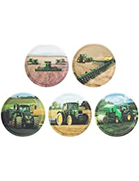Ergobag Accessoires Klettbilder-Set 5-tlg Kletties Landmaschinen 039 landmaschinen
