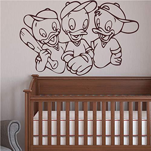 ndaufkleber selbstklebende kunst tapete für wohnzimmer kinderzimmer schlafzimmer dekor pvc wandtattoos 58 cm x 45 cm ()