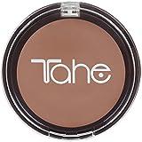 Tahe Bronze Maquillaje Compacto Sun Textura Cremosa Acabado Empolvado con Protección Alta F.P.S 50, Nº12, 15 g