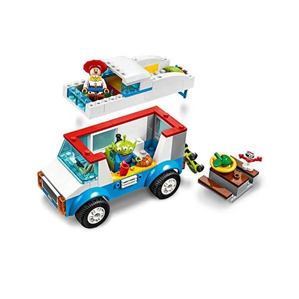 LEGO Juniors Toy Story 4 Vacanza in Camper, Gioco per Bambini, Multicolore, 282 x 262 x 76 mm, 10769 3 spesavip