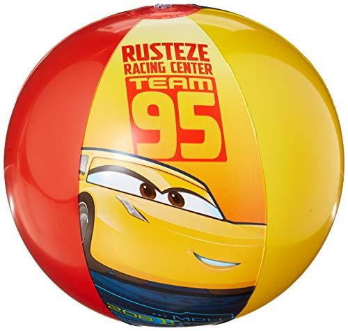 Disney Cars 3 Strandball, 10,5 x 6,25 x 0,25 [enthält 5 Einzelhandelseinheiten des Herstellers pro Amazon Kombinierte Verpackungseinheit] - SKU# 26589CAR (Verpackungseinheit)