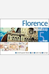 Florence PopOut Map: Handy Pocket Size Pop Up City Map of Florence (PopOut Maps) Map