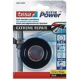 Tesa 56064-00005-00 Extreme Repair Tape Ruban de réparation Noir 2,5m x 19mm