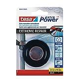 tesa Extreme Repair - Cinta de reparación auto soldante (2,5 m x 19 mm) color negro