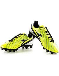 Diadora Scarpe calcio SOLANO GX14 scarpetta gialla con tacchetti N45 X3072 2f5dc09664a