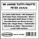 Im Jahre Tutti Frutti