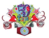 Suki Gifts POP077 Pop Up Grusskarte, 50. Geburtstag, mehrfarbig