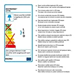 Heitronic LED Deckenleuchte Astra Weiss IP20 | LEDs fest verbaut 22W Farbwechsel | 27778