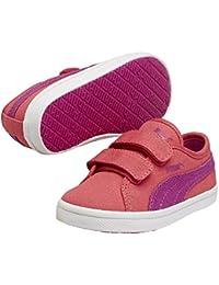 Puma Elsu F Canvas V Kids - zapatilla deportiva de lona infantil