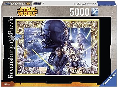 Ravensburger - 17431 - Puzzle Classique - Saga Star Wars Xxl - 5000 Pièces