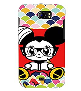 PrintDhaba Cartoon D-5970 Back Case Cover for MICROMAX A110Q CANVAS 2 PLUS (Multi-Coloured)