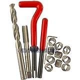M10 x 1,5 mm de rosca helicoil kit Cortador de reparación 15PC