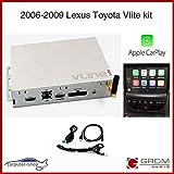 LEXUS TOYOTA 2006-2009 VLite CarPlay, iPhone Android Smartphone Mirroring, Bluetooth, Kit telecamera di backup (LEX5)