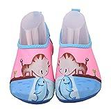 ABClothing Kinder Wasser Schuhe Barfuß Jungen und Mädchen Quick Dry Aqua Socken Schuhe für Park Lawn Pool Dance Kleinkind US 10.5-11.5M