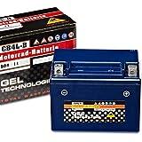 Panther GEL YB4L-B - 12 V / 4 Ah - 20 A/EN 50411 CB4L-B Motorradbatterie
