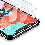 UGREEN Verre Trempé Compatible avec iPhone X iPhone XS Lot de 2 Protecteur Écran Supporte Face ID, 3D Touch, Dureté 9H, sans Bulles et Empreintes Digitales, Kit d'installation Offert